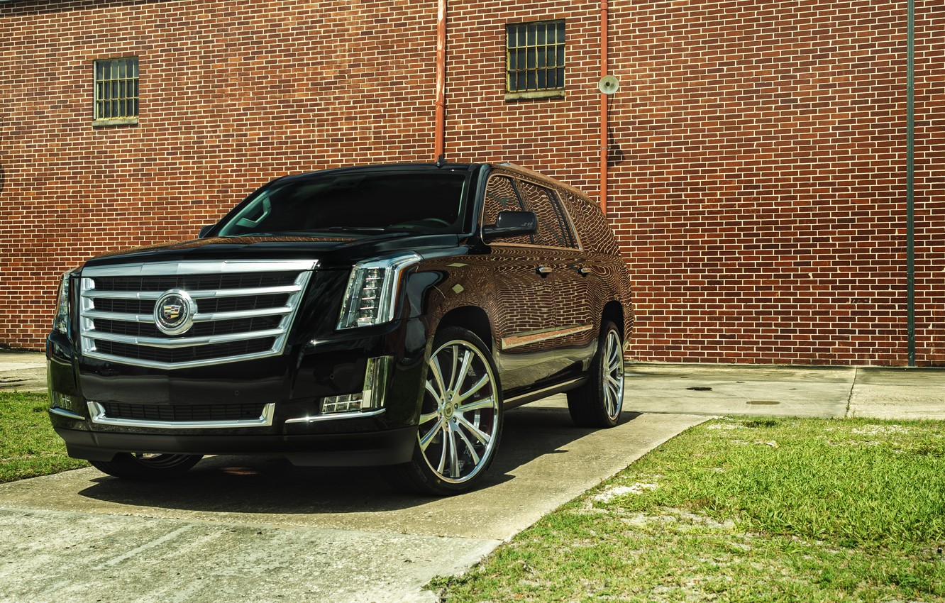 Photo wallpaper cadillac, escalade, esv