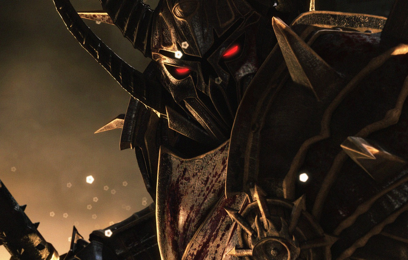 Photo wallpaper look, warrior, armor, Chaos, chaos, warhammer, Age of Reckoning