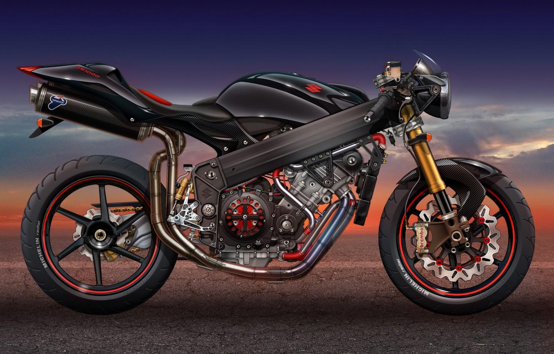 Photo wallpaper Motorcycle, Suzuki, Suzuki GS1000