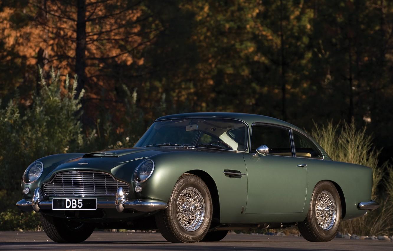 Photo wallpaper auto, Aston Martin, Aston Martin, classic, DB5