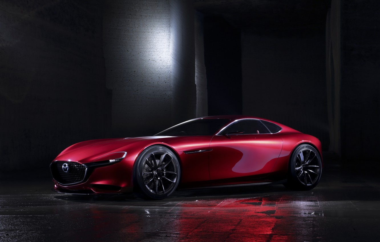 Photo wallpaper Concept, the concept, Mazda, Mazda, RX-Vision