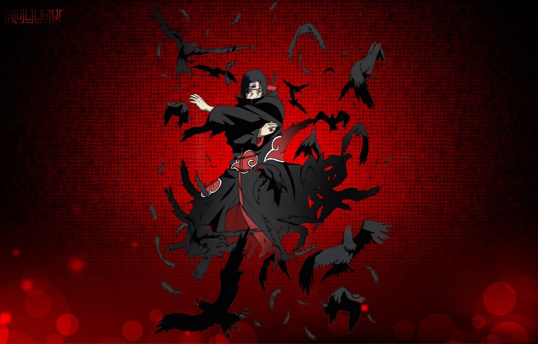 Wallpaper Hands Cloak Red Eyes Akatsuki Sharingan Ninja