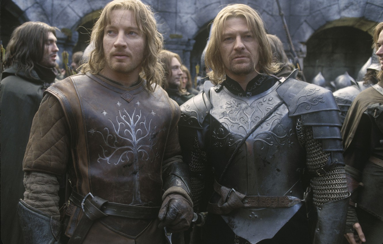 Photo wallpaper the Lord of the rings, heroes, the lord of the rings, still from the film