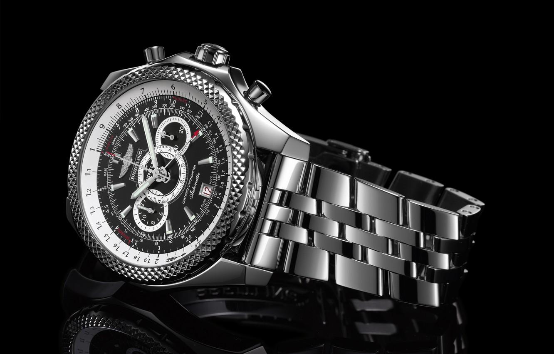 Photo wallpaper Watch, Watch, Breitling, SuperSports