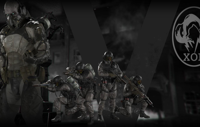 Wallpaper Konami Metal Gear Solid V The Phantom Pain Hideo