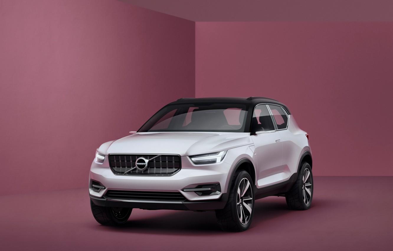 Photo wallpaper Concept, background, Volvo, the concept, Coupe, Volvo, crossover
