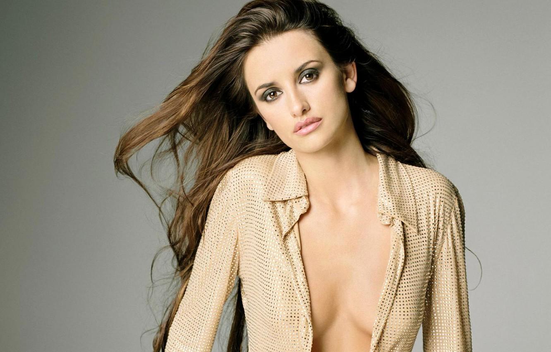 Photo wallpaper model, actress, brunette, Penelope Cruz