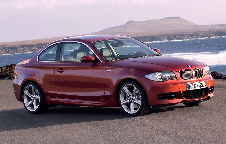 Photo wallpaper Auto, BMW, Machine, Boomer, BMW, Orange, Coupe