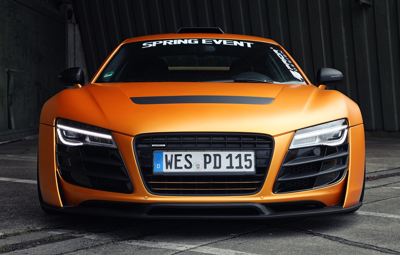 Photo wallpaper machine, Audi, lights, the front, front, Prior Design, GT850