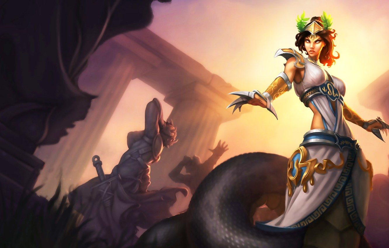Photo wallpaper lol, league of legends, rai, cassiopeia