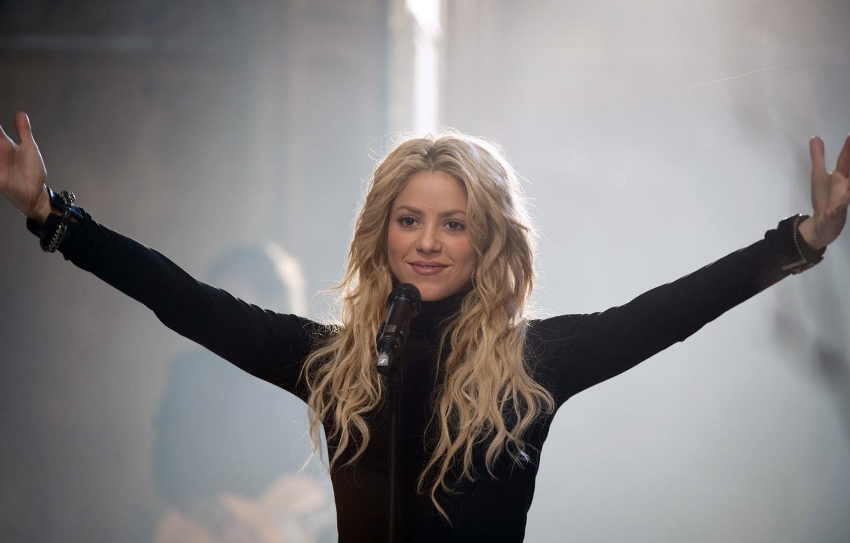 Photo wallpaper blonde, singer, Shakira, Shakira