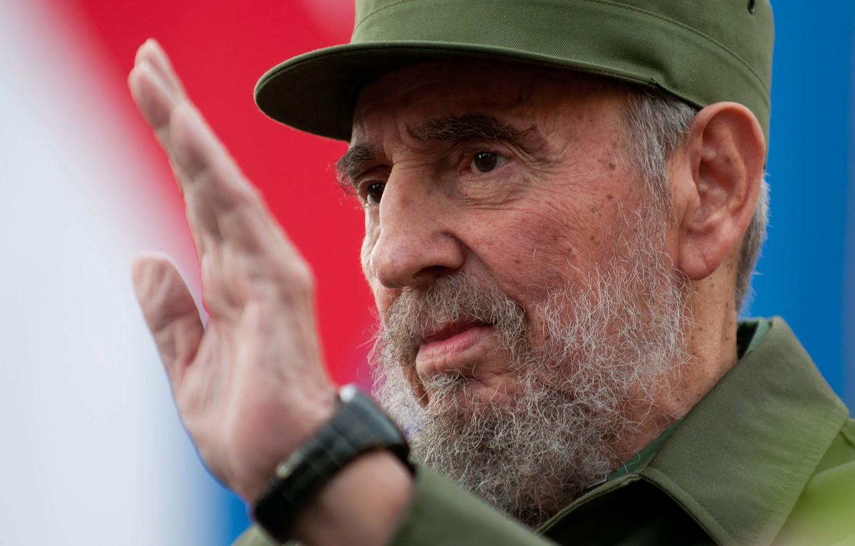 Photo wallpaper Form, Cuba, The leader, The leader, Fidel, Castro