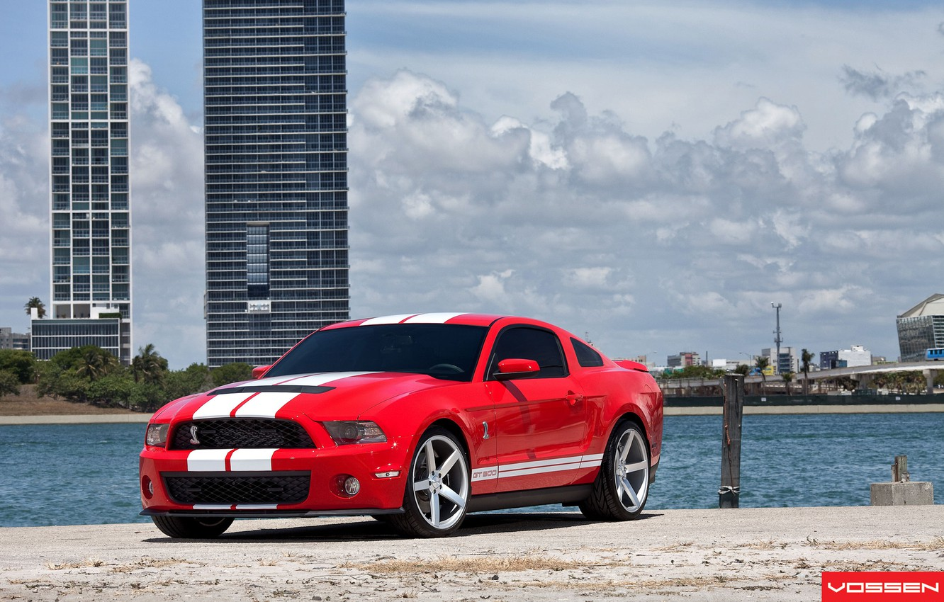 Photo wallpaper machine, auto, GT500, ford, shelby, Ford, cobra