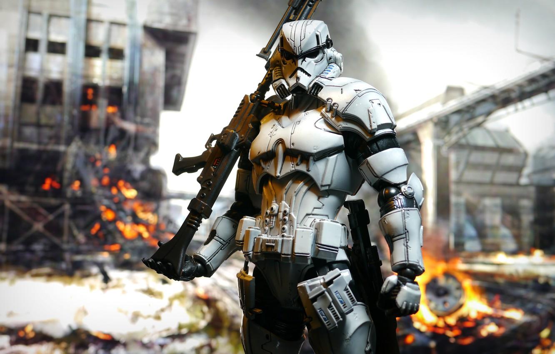 Wallpaper Weapons Toy Star Wars Figurine Star Wars Stormtrooper Images For Desktop Section Raznoe Download