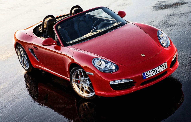 Photo wallpaper Porsche, 2012, Porsche, Boxster S, 987