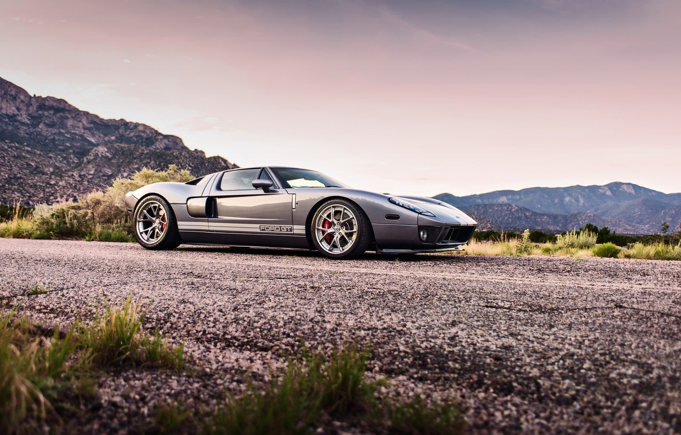 Photo wallpaper supercar, ford gt, lunchbox photoworks