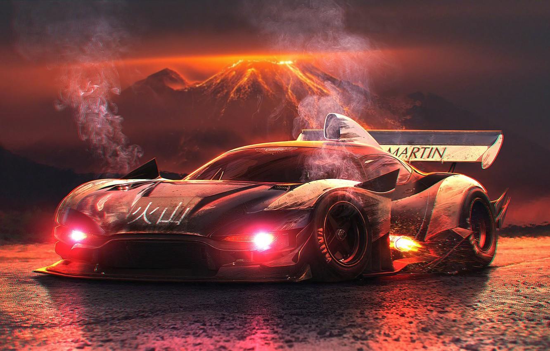 Photo wallpaper Concept, Aston Martin, Car, Tuning, Future, by Typerulez