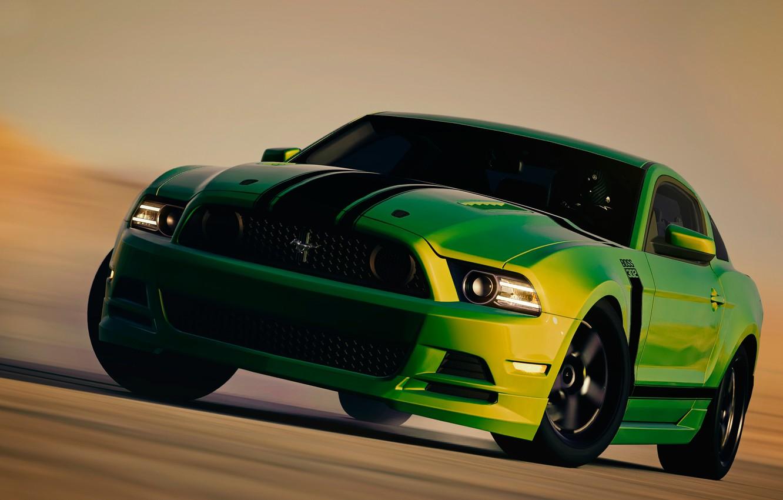 Photo wallpaper Mustang, Ford, Boss-302