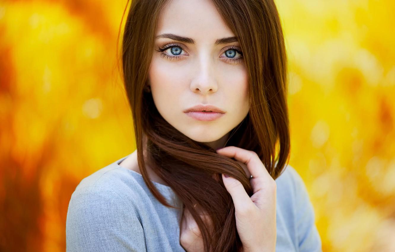 Photo wallpaper portrait, redhead, Nataly