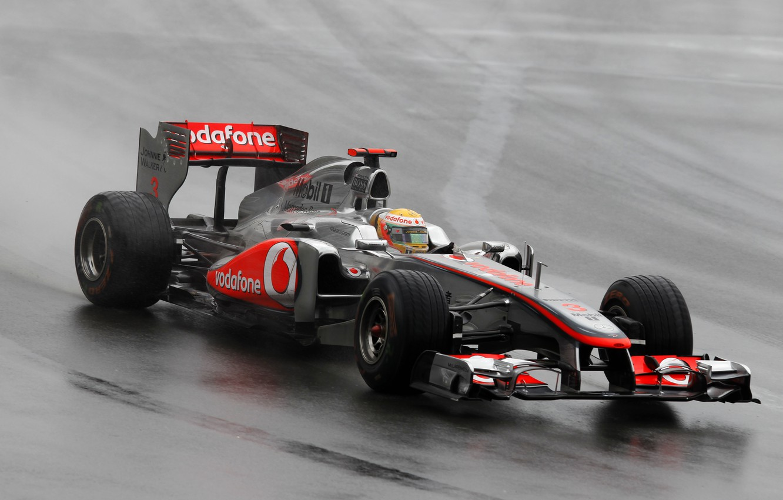 Photo wallpaper rain, Canada, 2011, mclaren, Grand Prix, hamilton, lewis