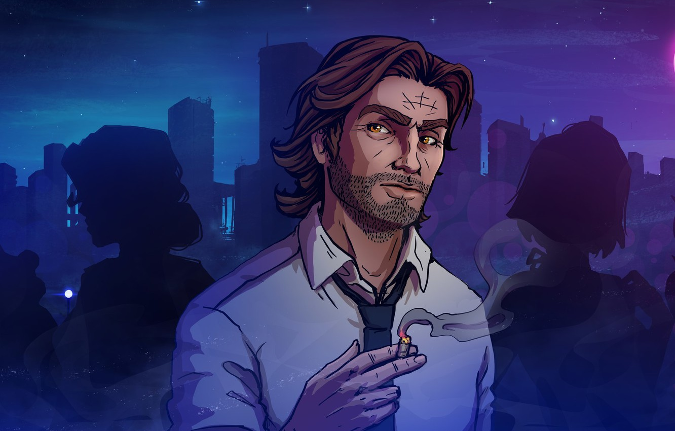 Photo wallpaper Art, Katrin, Lily, Snow White, The Wolf Among Us, Bigby, fables, Kate-FoX, Fabletown, Mr. Gabb, …