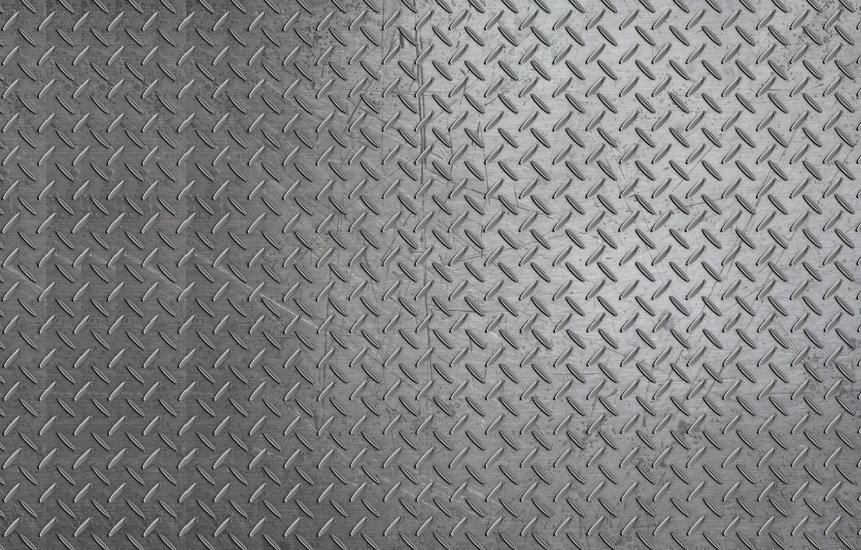Photo wallpaper grey, background, scratches, iron