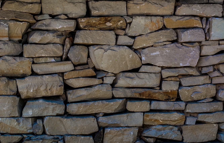 Photo wallpaper house, stone, texture, Ukraine, Pirogovo, pies