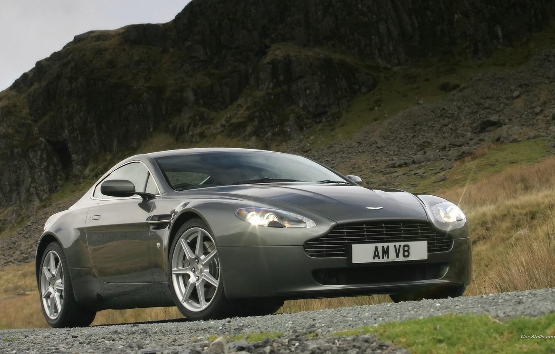 Photo wallpaper Aston Martin, Vantage