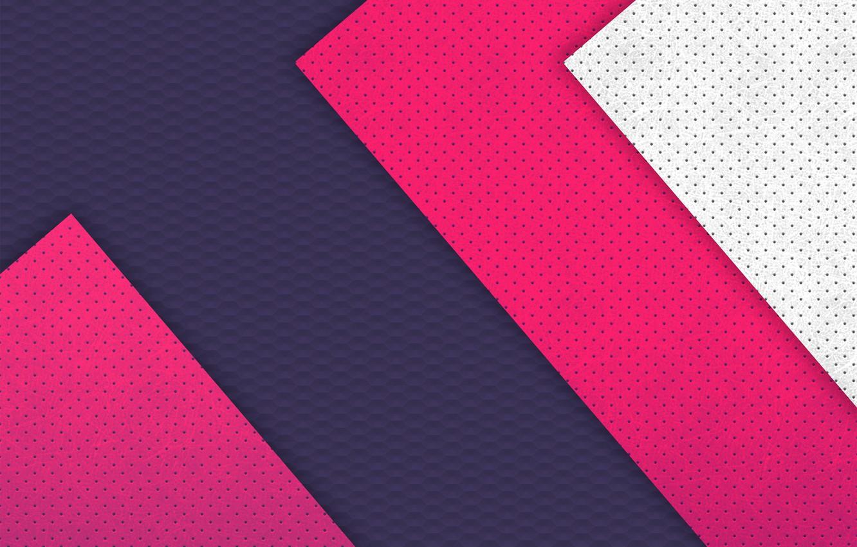Photo wallpaper white, triangles, texture, blue raspberry