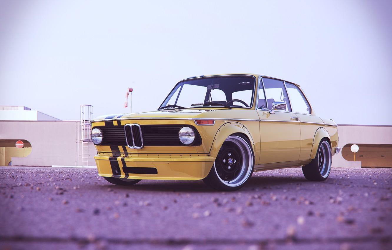 Photo wallpaper BMW, turbo, 2002