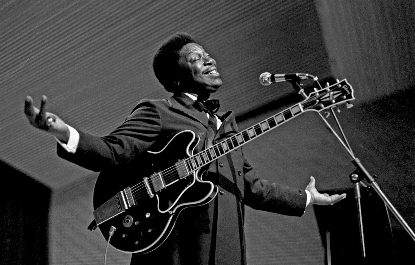 Photo wallpaper the game, guitar, Blues, Lucille, B.B. King