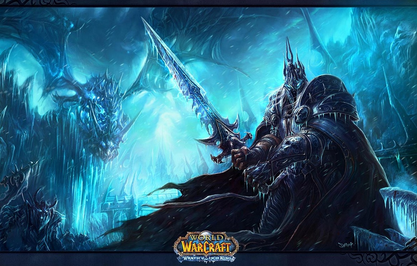 Wallpaper World Of Warcraft Wrath Of The Lich King Artas