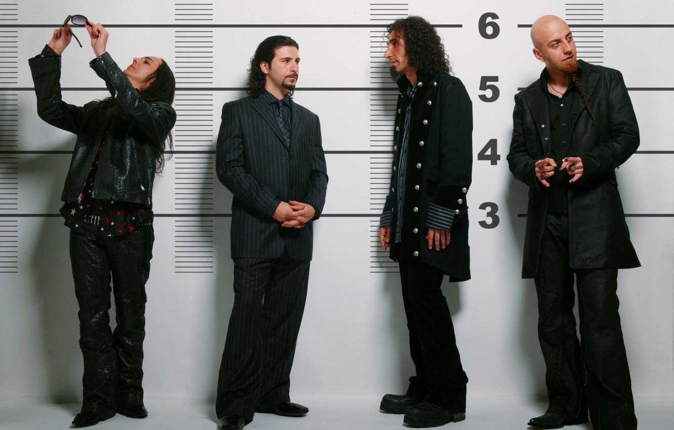 Photo wallpaper group, rock, system of a down, musicians, soad