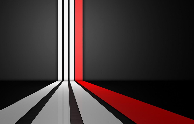 Photo wallpaper white, line, red, strip, background, black, texture