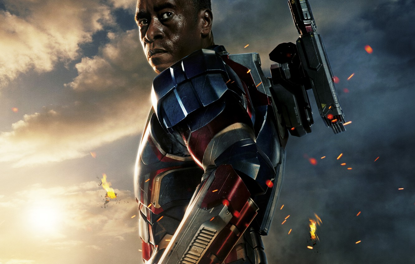 Wallpaper Wallpaper Gun Fantasy Iron Man Hd Wallpaper