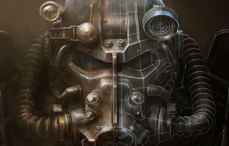 Photo wallpaper Armor, Art, Bethesda Softworks, Bethesda, Equipment, Bethesda Game Studios, Fallout 4, The Art of Fallout …