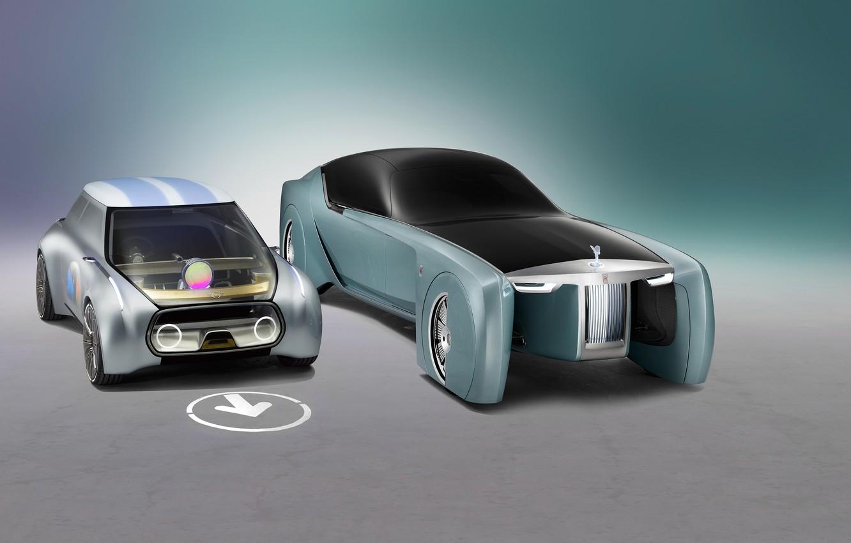 Photo wallpaper car, concept, future, wallpaper, metal, Rolls Royce, prototype, beautiful, speed, beauty, luxury, automobiles, sugoi, subarashii, …