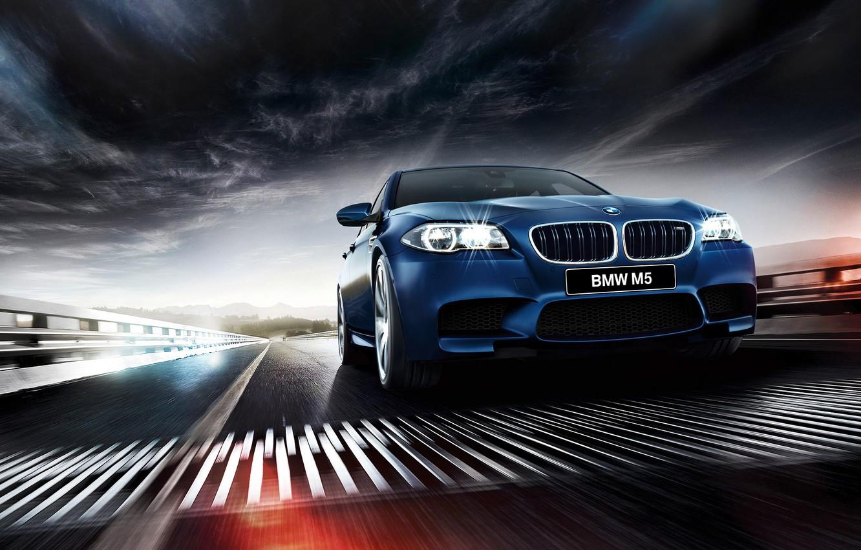 Photo wallpaper BMW, BMW, sedan, F10, Sedan, 2015
