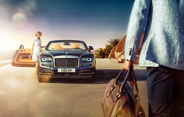 Photo wallpaper Rolls-Royce, Dawn, rolls-Royce, 2015