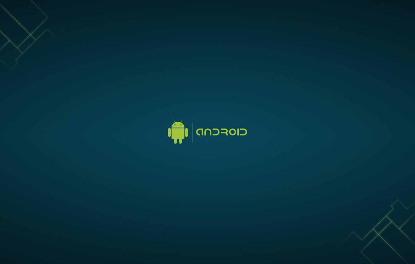 Photo wallpaper robot, Android, android