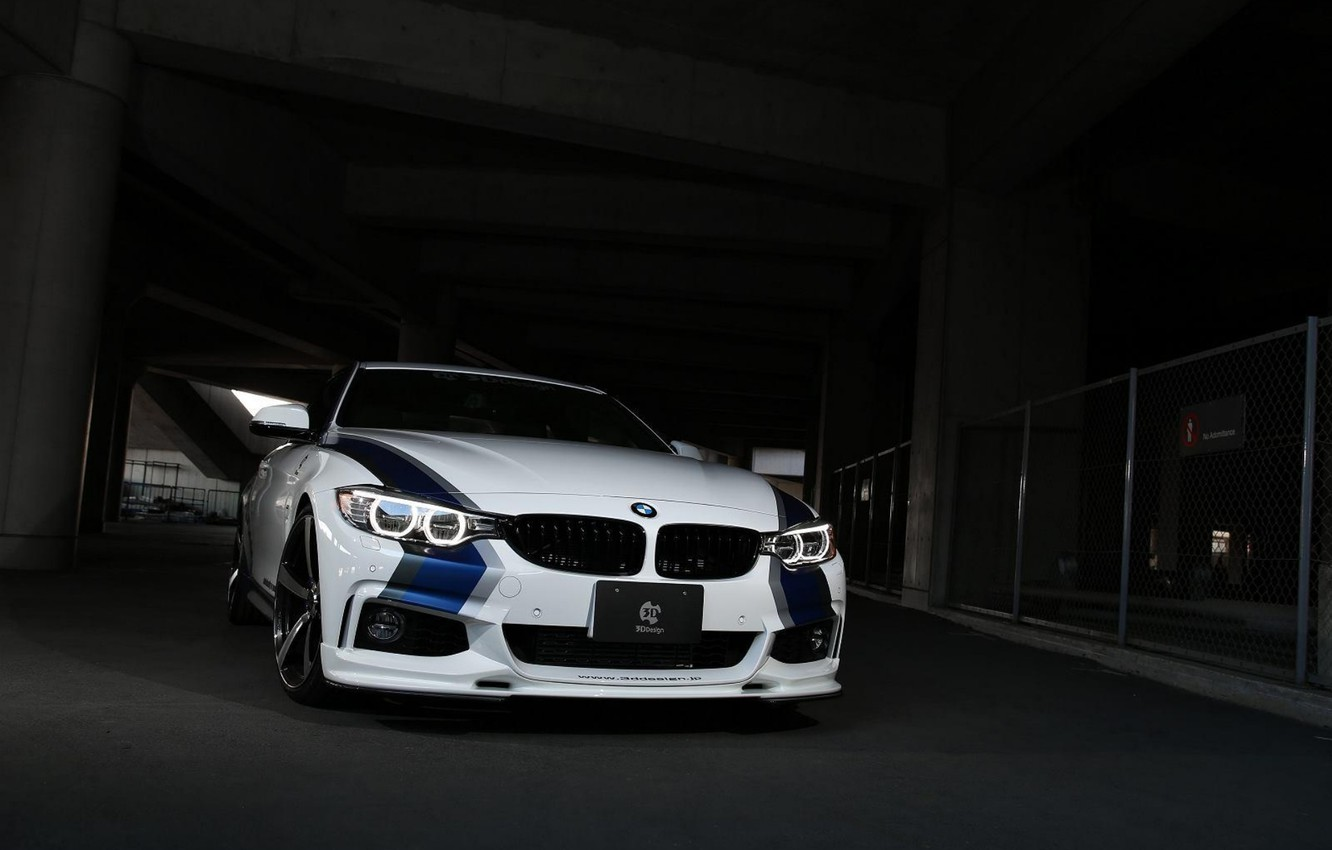 Photo wallpaper BMW, 2014, 4Series, Tuned by 3D Design