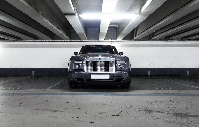 Photo wallpaper Rolls-Royce, Phantom, Front, View