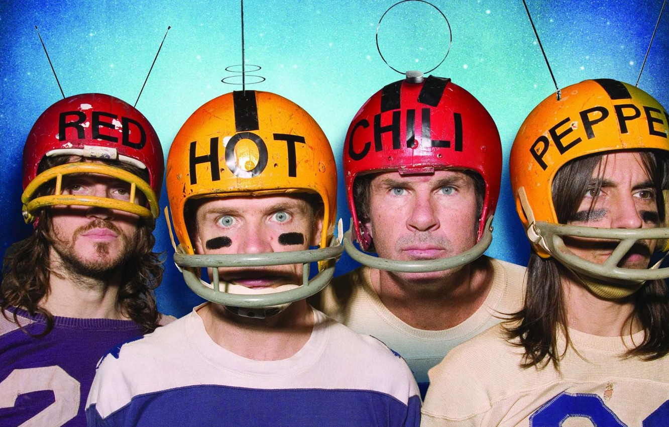 Photo wallpaper red, hot, chilli, peppers, rhcp