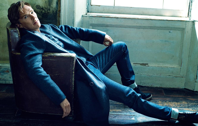 Photo wallpaper photoshoot, Benedict Cumberbatch, Benedict Cumberbatch, It, September 2014