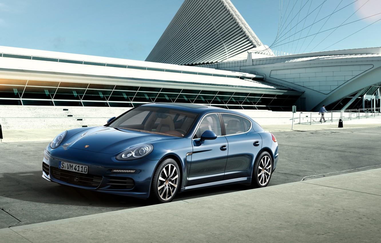 Photo wallpaper Porsche, Porsche, Panamera, 2015, Panamera 4S