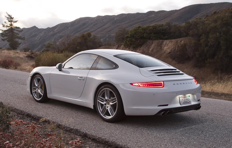 Photo wallpaper coupe, 911, Porsche, Porsche, 2011, Coupe, US-spec, 991, Carrera, Carrera S