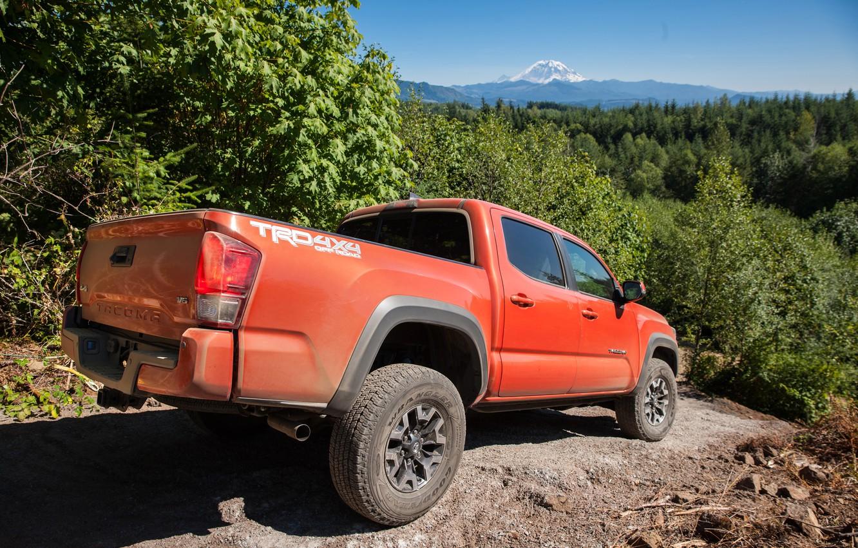 Photo wallpaper Toyota, Toyota, TRD, Tacoma, 2015, Tacoma, Off-Road