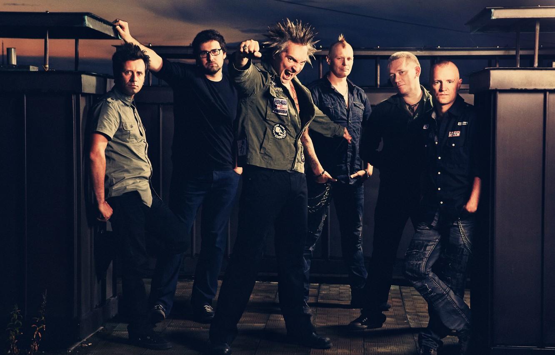 Photo wallpaper music, 2011, punk rock, folk-punk, Kish, The king and the Clown, horror punk