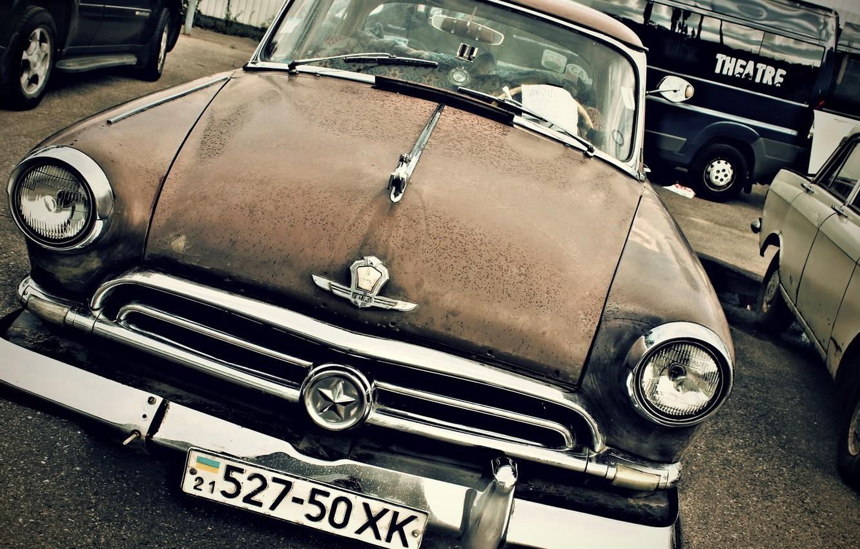 Photo wallpaper background, Wallpaper, USSR, car, legend, Volga, Volga, Gaz, GAZ 21