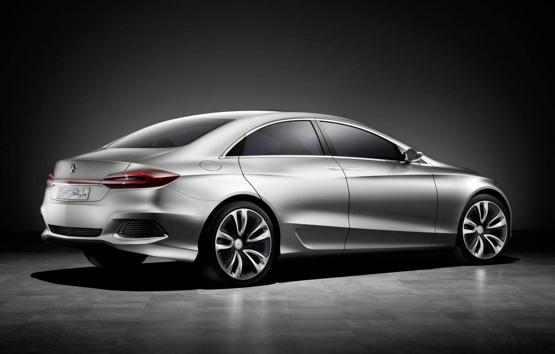 Photo wallpaper Auto, concept, Mercedes Benz, f800